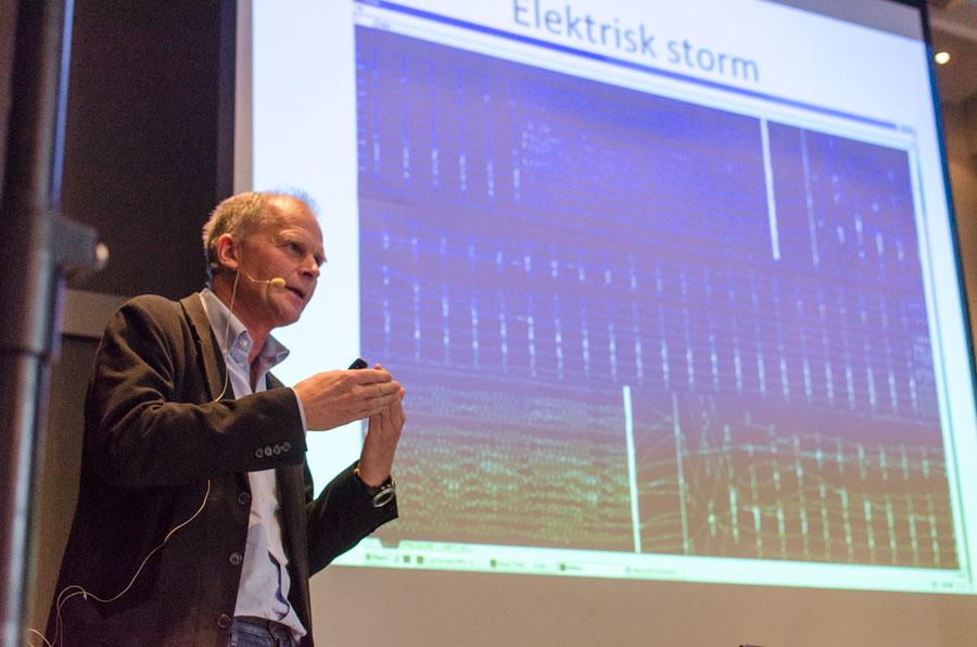 """Ole Rossvold imponerte mange med sitt """"high-tech"""" kardiologiske foredrag."""