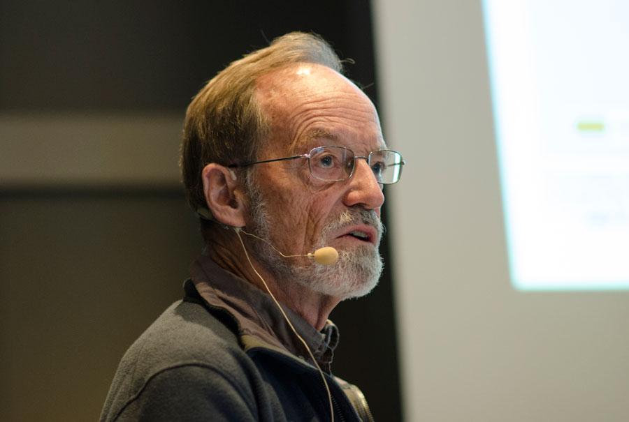 Johan Bruun gikk gjennom den infeksjonsmedisinske historien.