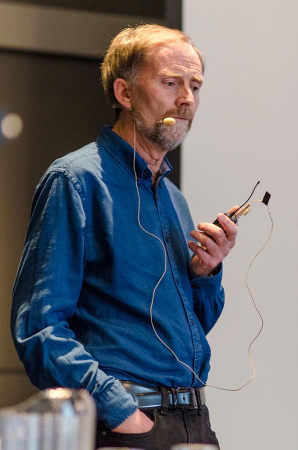 Leder av Spesialistkomiteen i indremedisin, Per Mathisen, gjennomgikk komiteens arbeid siste år.