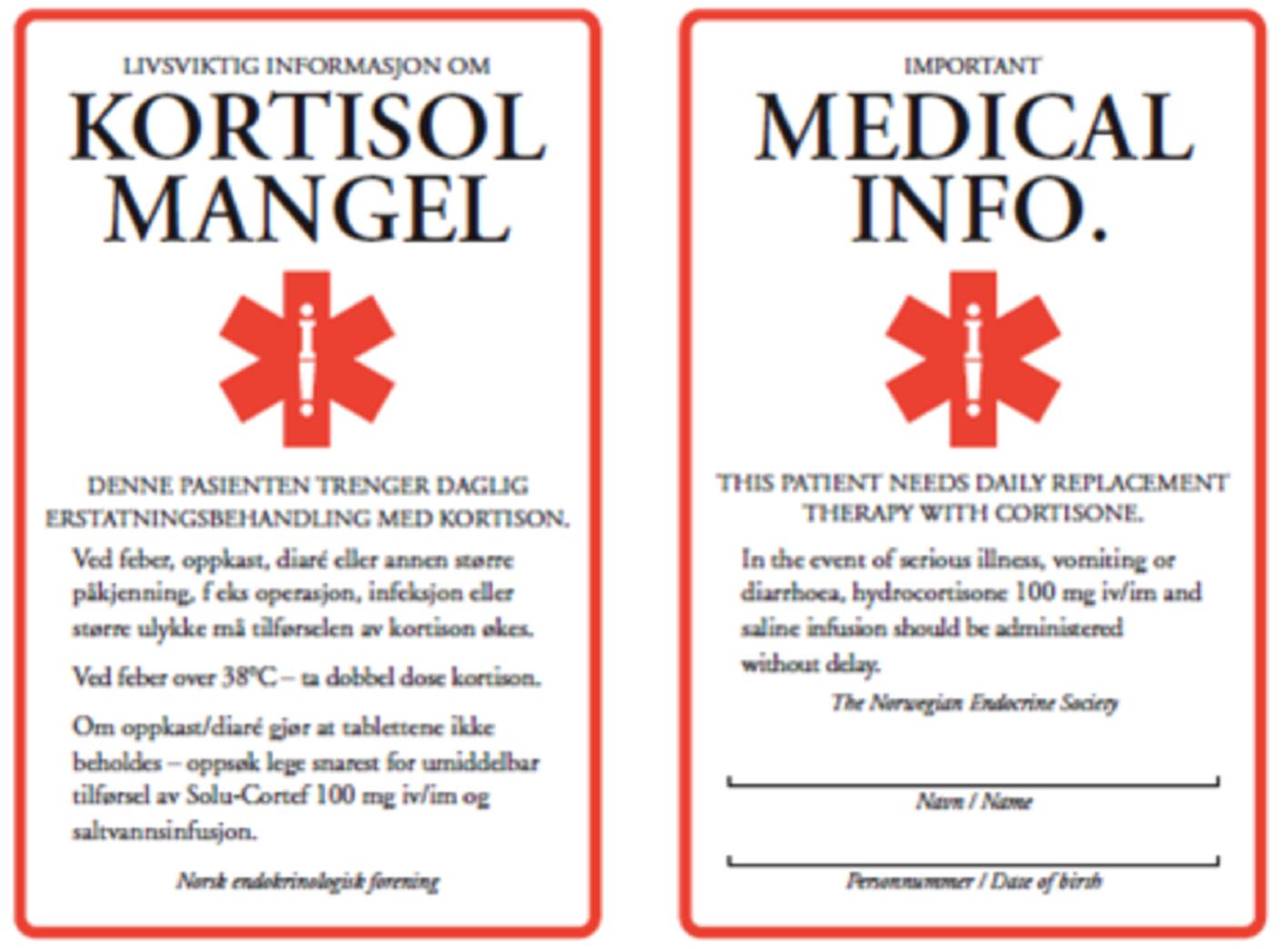 Binyrebarksvikt; årsak, diagnostikk og behandling | Indremedisineren