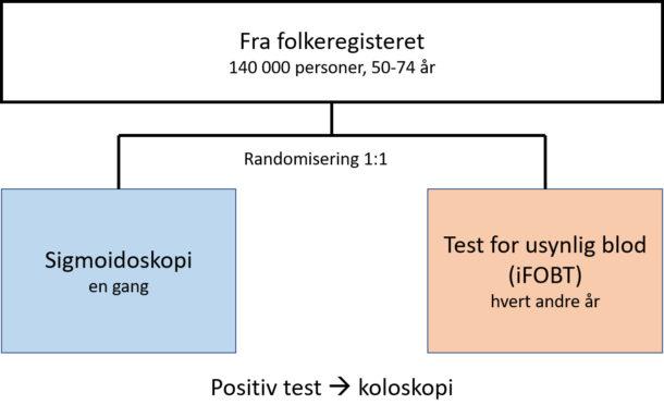 Figur 2. Pilotprosjektet - studiedesign.